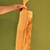 tagliere di design in legno di ulivo